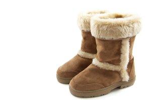 la bota de nieve