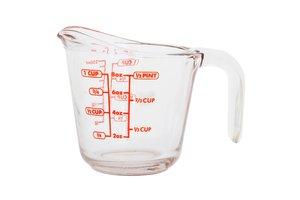 la taza para medir