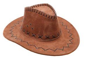 el sombrero de cuero