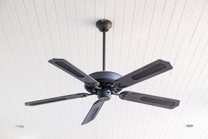 el ventilador de techo