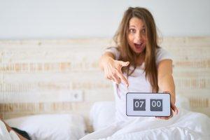 a qué hora te levantas