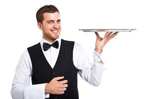 el camarero, la camarera