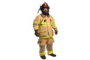el bombero, la bombera