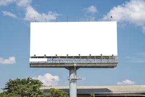 la valla publicitaria