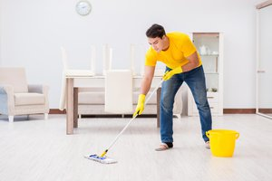 to mop