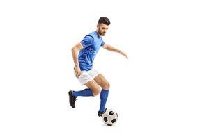 el futbolista, la futbolista