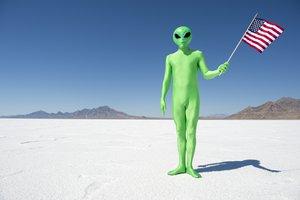 el extraterrestre, la extraterrestre
