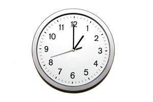 it's one o'clock