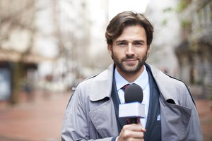 el reportero, la reportera