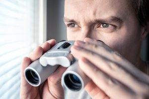 to spy on
