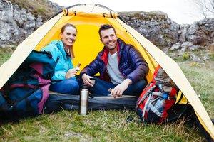 el viaje de camping