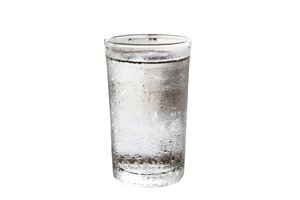 el agua fría