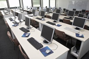 la sala de computación