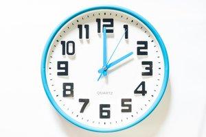 it's two o'clock