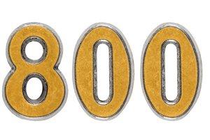 eight hundred