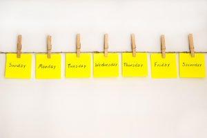 la semana