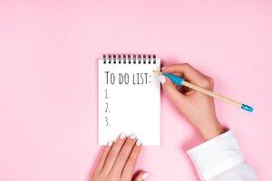 hacer una lista de