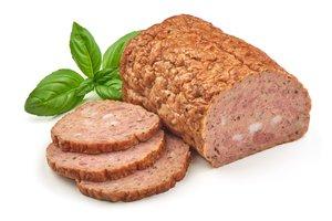 el rollo de carne al horno