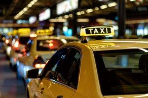 la parada de taxis