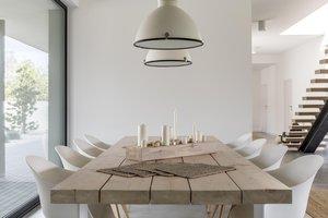 la mesa del comedor