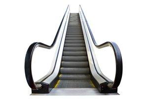 la escalera mecánica