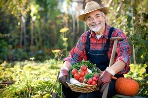 el granjero, la granjera