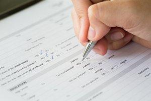 el formulario de inscripción
