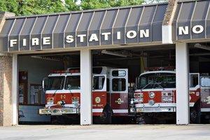 la estación de bomberos