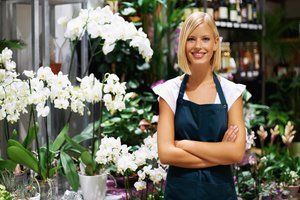 el florista, la florista