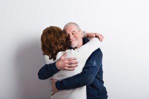 to hug