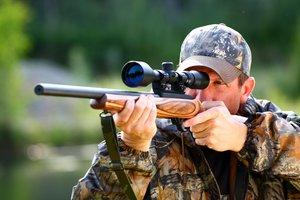el cazador, la cazadora