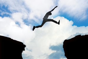 saltar sobre