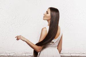 el pelo largo