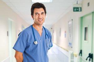 el enfermero, la enfermera