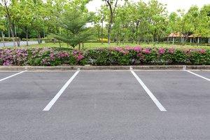 el lugar para estacionar