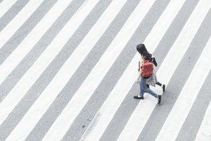 to cross the street