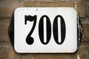 seven hundred