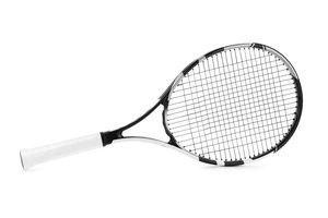 la raqueta de tenis