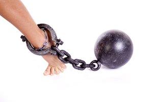 el esclavo, la esclava