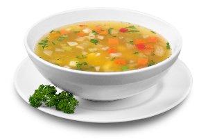 la sopa de verduras