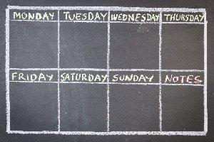 el día de la semana