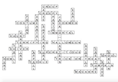 Answers To October Word Of The Day Crossword Spanishdict