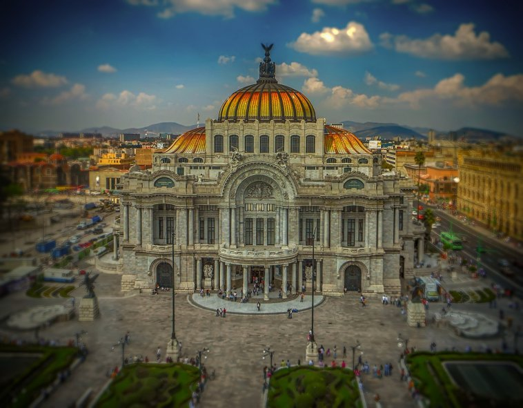 Bellas Artes in Mexico City