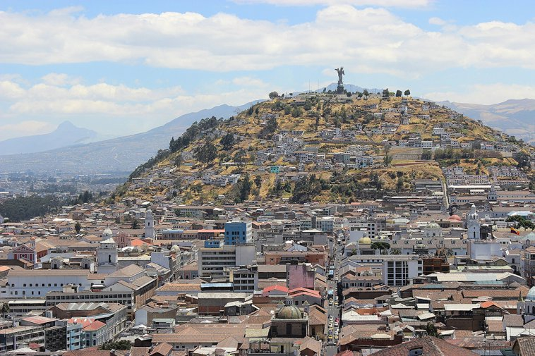 Quito and the Panecillo