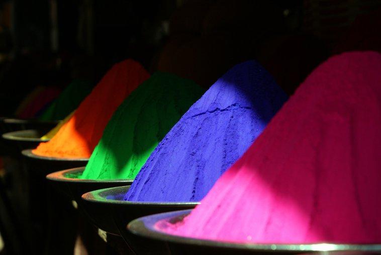 más colores
