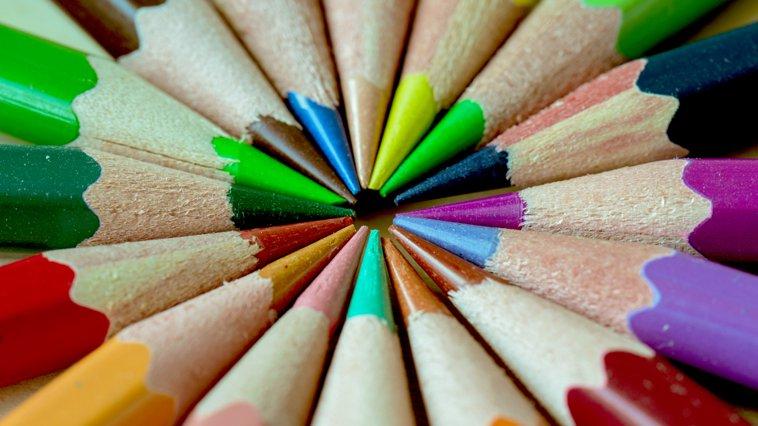 lápices de colores en inglés