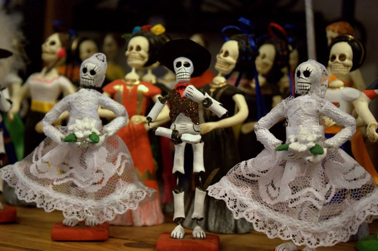 Día de Muertos Figurines