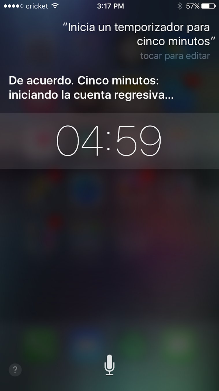 Siri listens and responds in Spanish